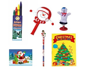 Cristmas party and loot bag toys