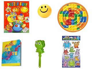 party bag toys selection